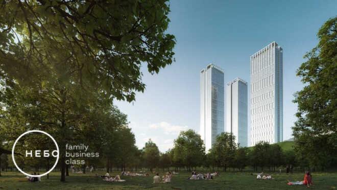 Жизнь на уровне неба в Раменках Три небоскреба в зеленом районе